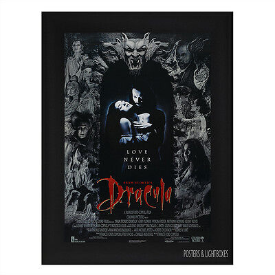 BRAM STOKERS DRACULA Framed Film Movie Poster A4 Black Frame