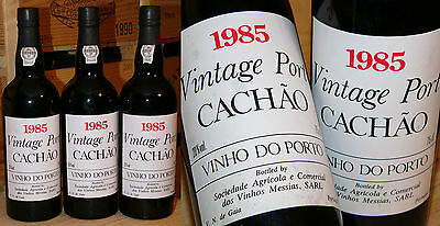 1985er Vintage Port - Caves Messias Quinta do Cachao *****