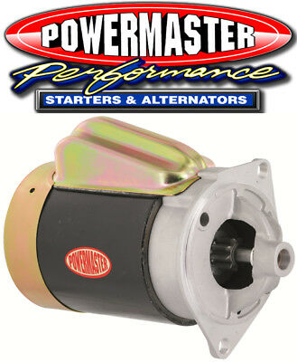 Powermaster 3132 OE / Retro Style Starter Small Block Ford 2-Bolt Chrome