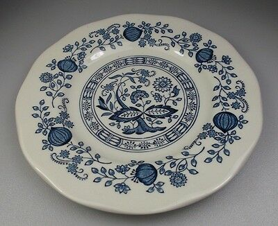 """WEDGWOOD - ENOCH - BLUE ONION BREAD & BUTTER PLATE 6"""" - set of 4 PLATES"""