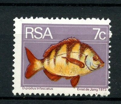 South Africa 1980 SG#354 7c Definitive, Bontrok Seabream, Fish MNH #A27984