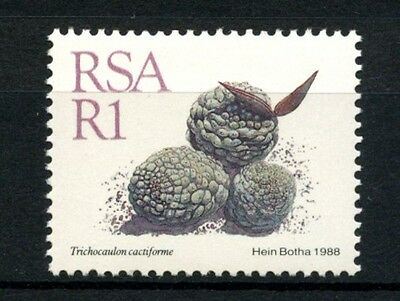 South Africa 1988-93 SG#667 1R Succulents, Flowers, Definitive MNH #A28044