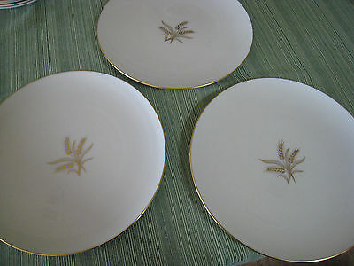 Lenox WHEAT Pattern 17 pieces Perfect Condition FREE SHIPPING