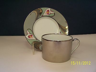 Fitz and Floyd Lis de Platine Cup and Saucer