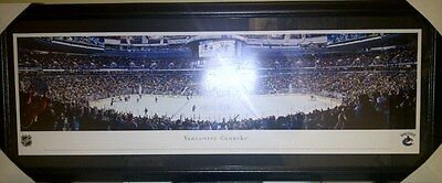 Vancouver Canucks Rogers Centre NHL Panoramic Arena Photo Framed 43x18