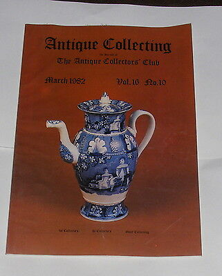 Antique Collecting March 1982 - Scrimshaw Facts And Forgeries