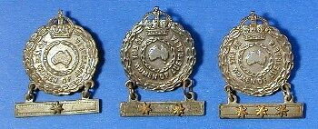 British Australian World War 2 To The Women Of Australia Badges Set D0666