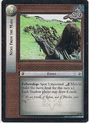 Lord of the Rings CCG - EOF - News From the Mark #96 Rare