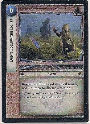 Lord of the Rings CCG - EOF - Don't Follow the Lights #38 Foil