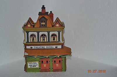"Dept 56 Dickens Village #55840  "" Theatre Royal"""