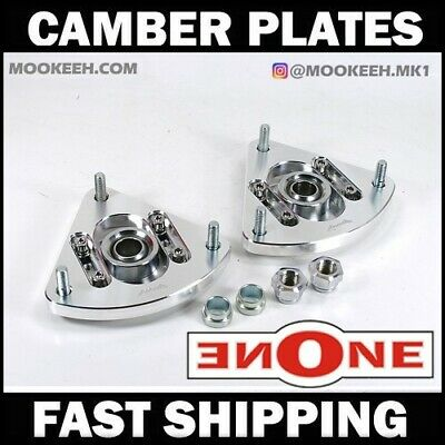 MK1 PillowBall Bearing Camber Kit Plates For Coilover Kit 3-FCP