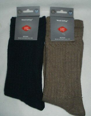 HJ HALL quality Thermal socks softop diabetic WOOL RICH Size 11-13 EU46-48 (95)