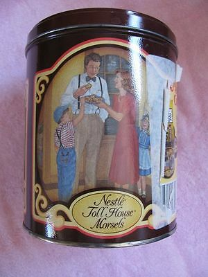 Nestle Toll House Morsels 50 Years of Memories 1939-1989 Anniversary Vintage Tin