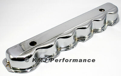 65-89 Ford 240 300 Inline Straight 6 Cylinder Chrome Plated Steel Valve Cover