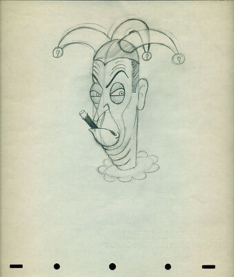 Disney Ned Sparks 1938 Mother Goose Goes To Hollywood T. Hee cel Drawing
