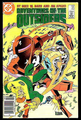 Adventures Of The Outsiders Us Dc Comic Vol.1 # 42/'86
