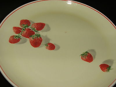 STRAWBERRY SHORTCAKE BY CAVITT SHAW LOT OF 4 SMALL PLATES