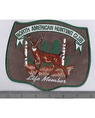 North American Hunting Club Life Member Jacket Patch - Large