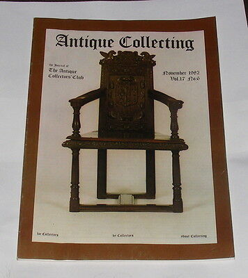 Antique Collecting November 1982 - The Alchemists Chest