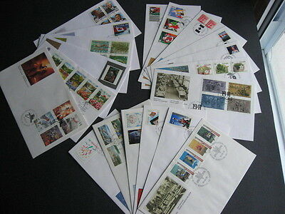 CANADA 19 different FDCs from 1991 a nice group here! PLZ read description!