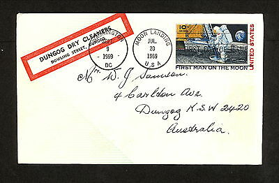WC5583 USA 1969 Souvenir Cover, First Man on the Moon