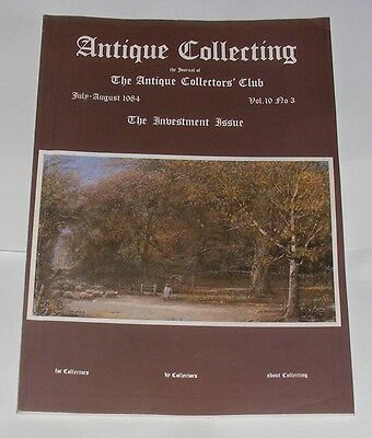 Antique Collecting July/August 1984 - French Art Nouveau Furniture