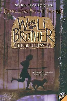 Wolf Brother by Michelle Paver (English) Paperback Book Free Shipping!