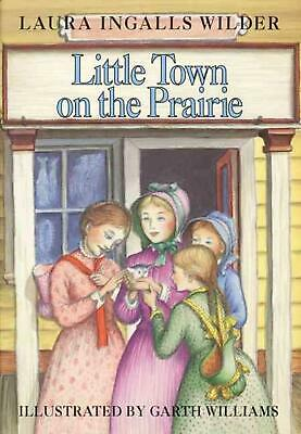 Little Town on the Prairie by Laura Ingalls Wilder (English) Hardcover Book Free