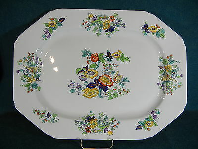 """Copeland Spode W26 New Stone 17 1/8"""" Large Oval Serving Platter"""