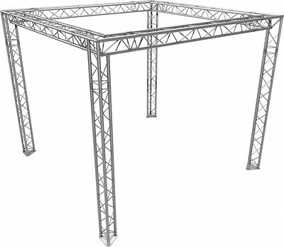Messestand aus Naxpro-Truss-Traversen FD 23 3x3m