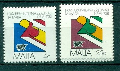 EMBLEMI - EMBLEMS MALTA 1981 25th International Fair