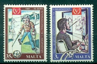 EMBLEMI - EMBLEMS MALTA 1981 Year of Disabled