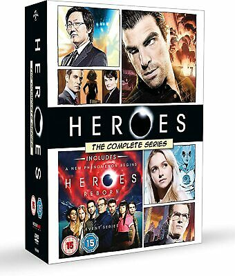 HEROES 1-4 (2006-2010): The COMPLETE Original TV Series Seasons -  R2 DVD not US