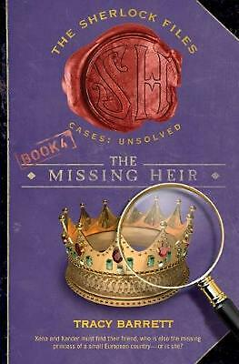 The Missing Heir by Tracy Barrett (English) Paperback Book Free Shipping!