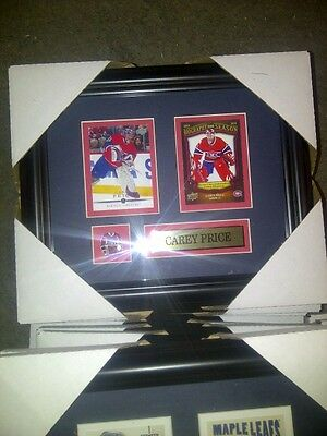 Carey Price Montreal Canadiens NHL Hockey Museum framed card Free Shipping