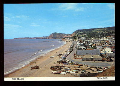 Sidmouth The Beach, Unused Postcard #C3732