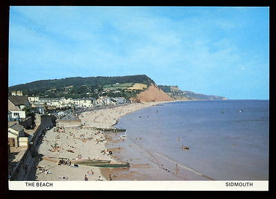 Sidmouth The Beach, Unused Postcard #C3733
