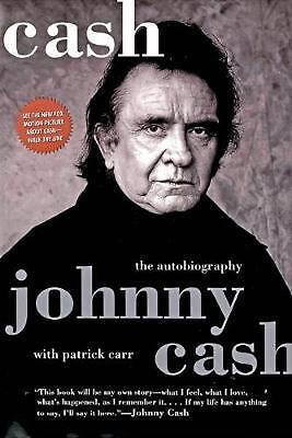 Cash: The Autobiography by Johnny Cash Paperback Book (English)