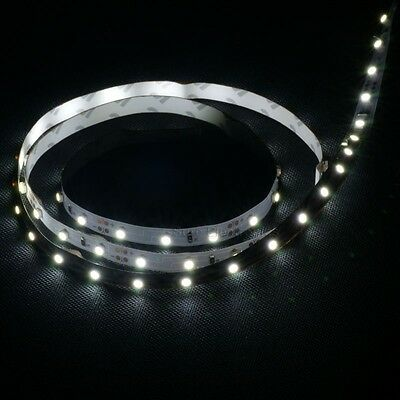 Non-waterproof 1M 3528 DC 12V White SMD 60 LED Flexible Strip Christmas Party