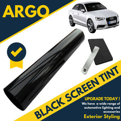 Black Sun Visor Window Screen Tint Film Shade Sunstrip