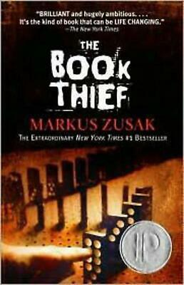 The Book Thief by Markus Zusak (English) Paperback Book Free Shipping!