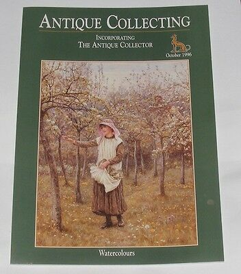 Antique Collecting October 1996 - Watercolours