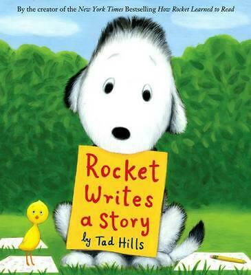 Rocket Writes a Story by Tad Hills (English) Hardcover Book Free Shipping!