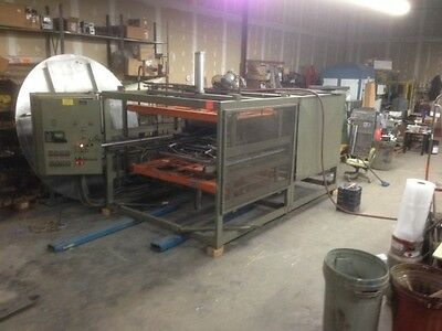 Used TPS Mode 4042 single station thermoformer