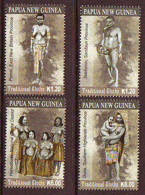 Papua New Guinea 2012 Traditional Cloths Unmounted Mint, Mnh