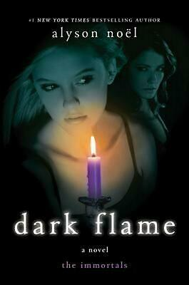 NEW Immortals #4 Dark Flame by Alyson Noel Hardcover Book (English) Free Shippin