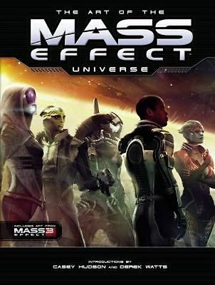 NEW Art of the Mass Effect Universe by Casey Husdon (English) Free Shipping