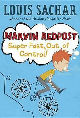 Super Fast, Out of Control! by Louis Sachar (English) Paperback Book Free Shippi