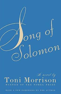 Song of Solomon by Toni Morrison (English) Paperback Book Free Shipping!