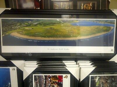 St. Andrews Golf Links Panoramic Photo Framed 43x18  Free Shipping